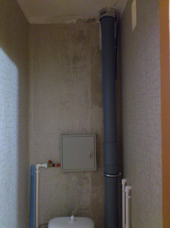 Вентиляция в ванной и туалете частного дома